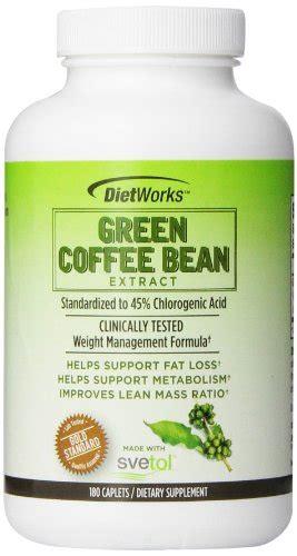 Green Coffee Indonesia jual beli dietworks green coffee bean extract caplets 180