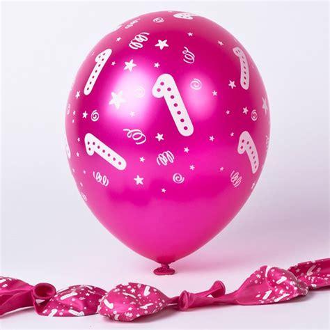 Balon Metalic 1 Pack age 1 balloons metallic pink pack of 6