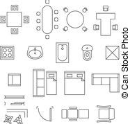 floor plan clip art floor plan furniture symbols cliparts best free home