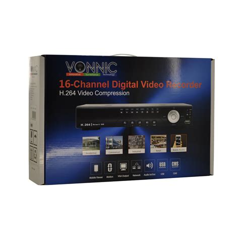 New Vonnic Dvr C1116se 16 Channel Dvr System Only 169