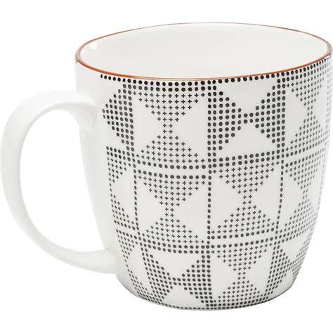 kare design mug kare design mug art cuisine black and white assort wz 243 r