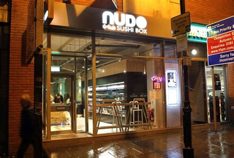 nudo sushi oxford road japanese cafe nudo plans three more manchester branches