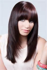 hairstyles lond front back with bangs fashion hairstyle women layered long hairstyles 2012 for