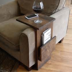 sofa tray table sofa chair arm rest tray table stand with side storage