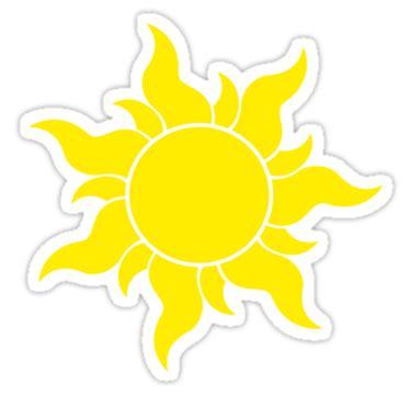 sol de rapunzel quot tangled sun quot stickers by dellycartwright redbubble