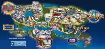 Map Of Universal Orlando by Directions To Universal Studios Orlando Pictures To Pin On