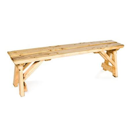 wooden benches for rent natural wood bench 8 feet for rent in nyc partyrentals us