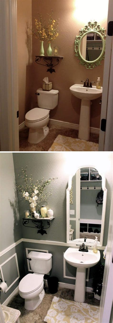 Small Bathroom Makeover Pictures by The 25 Best Small Bathroom Makeovers Ideas On