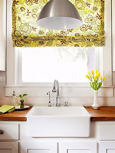 kitchen shades inspired by fabric roman shades the inspired room