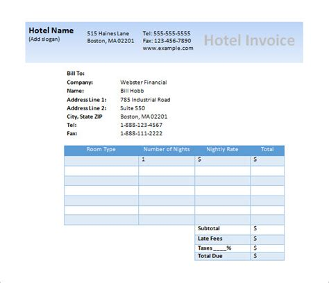 microsoft free invoice template invoice for hours studio design gallery best design