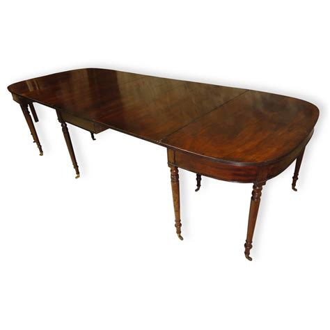 Antique Mahogany Dining Table by Regency Cuban Mahogany Extending Dining Table 294460