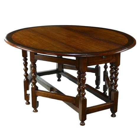 Oak Drop Leaf Dining Table Lancashire Oak Drop Leaf Extending Dining Table
