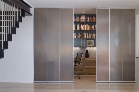 Office Door Curtains San Francisco Sliding Door Curtains Home Office Modern With Closet Stainless Steel Task Chairs