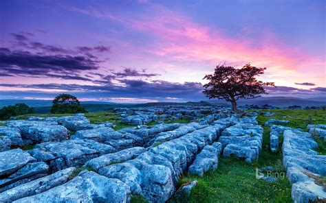england yorkshire dales national park stones  bing