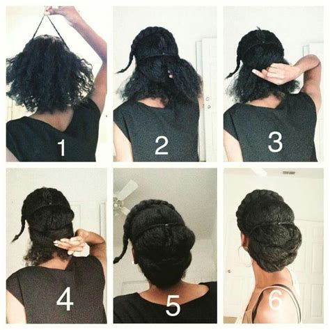 Step By Step Instructions For Natural Hair | 212 best images about pretty hairstyles on pinterest