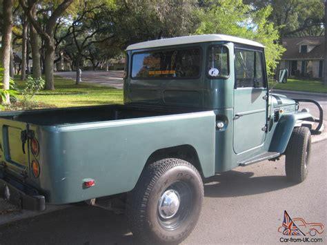 toyota pickup bed 1965 toyota land cruiser fj45 pickup short bed
