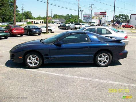 Pontiac Blue by 1998 Navy Blue Metallic Pontiac Firebird Trans Am Coupe