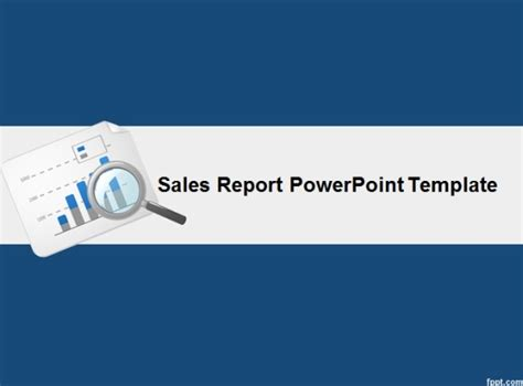 Best Powerpoint Templates For Making Good Sales Presentations Report Powerpoint Template
