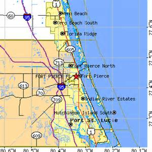 Fort Pierce Florida Map by Fort Pierce Florida Fl Population Data Races