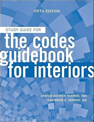 study guide for the codes guidebook for interiors books the codes guidebook for interiors study guide by