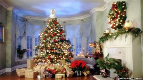 christmas room beautiful christmas room 1280x720 720p wallpaper