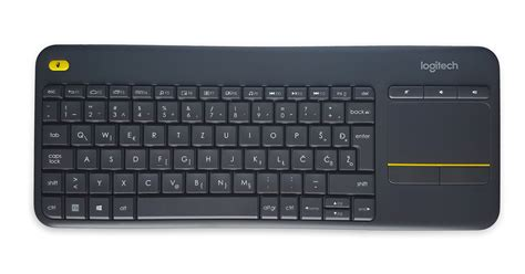 Murah Keyboard Logitech K400 Plus Black keyboard k400 plus wireless touch logitech unifying black slo eventus sistemi