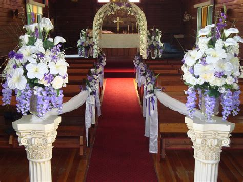 church decorating ideas wedding ceremony decoration decoration