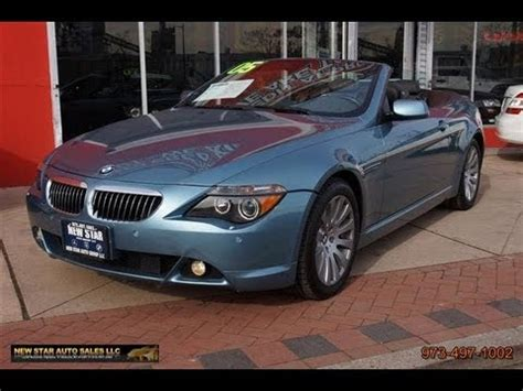 how to learn about cars 2005 bmw 6 series electronic throttle control 2005 bmw 6 series 645ci convertible youtube