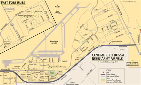 fort bliss texas map ft bliss map pictures to pin on pinsdaddy