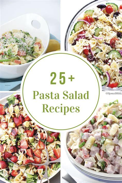 recipes for pasta salad pasta salad recipes the idea room