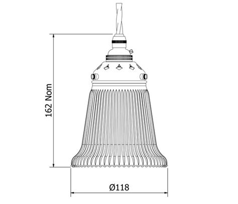 bell shaped l shades bell shaped holophane glass light shade