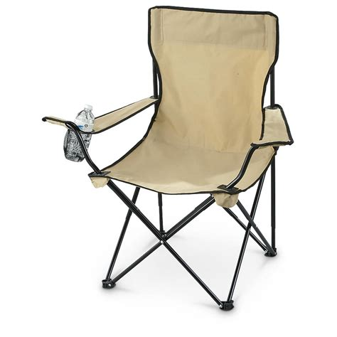 Coyote Chair by Mil Tec Coyote Folding Chair In Bag 590494 Cots At