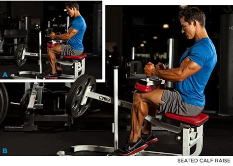 sit to grow the 4 minute calf workout