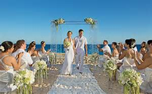 All inclusive destination wedding packages in the caribbean and mexico