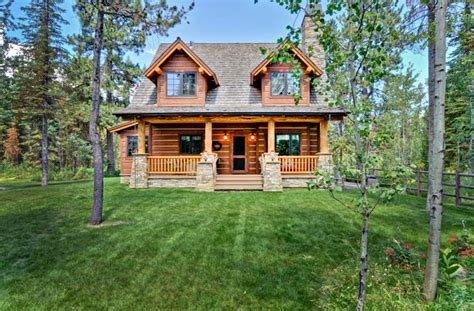Craftsman Cabin by Cabin Craftsman Log House Plan 43212 I Love This Small