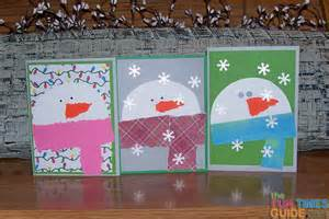 easy snowman card tutorial how to make snowman cards yourself the cardmaking and