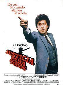 imagenes de justicia para todos justicia para todos pel 237 cula 1979 sensacine com