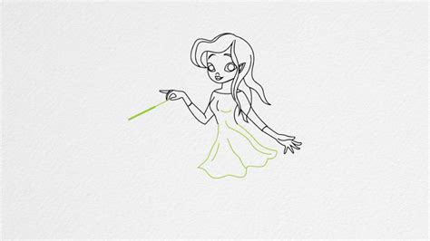 how to draw a fairy how to draw a fairy step by step youtube