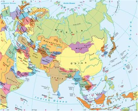 asia map atlas maps asia political map diercke international atlas