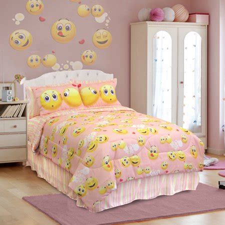 Bed Emoji by Veratex Emoji Bedding Comforter Set Walmart