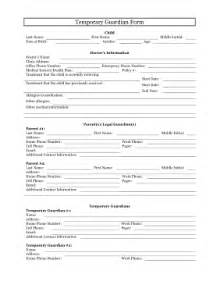 free guardianship template printable temporary guardianship form pleading template