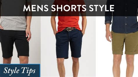 s shorts style guide how should shorts be what