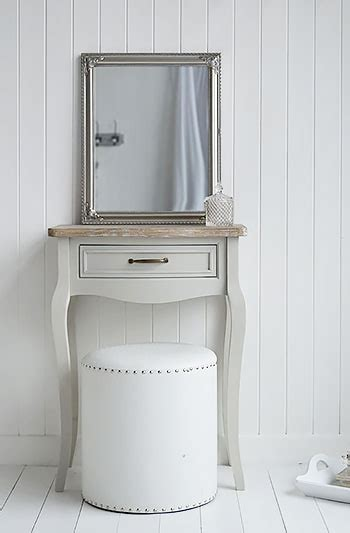bridgeport small grey dressing table  white lighthouse bedroom furniture