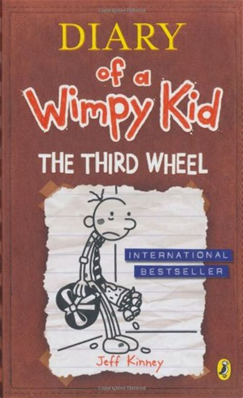 diary of a wimpy kid the third wheel book report children s books reviews diary of a wimpy kid the