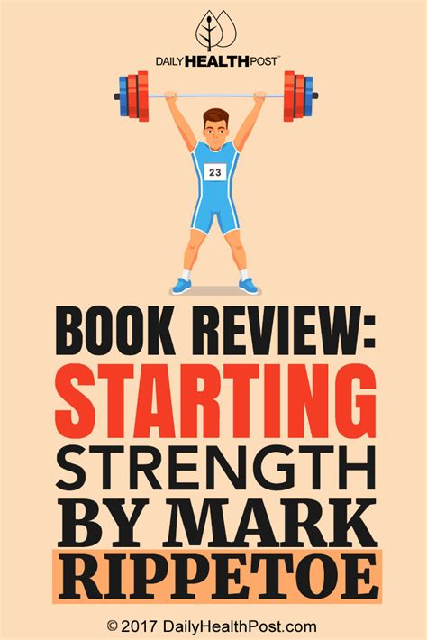 book review starting strength by rippetoe