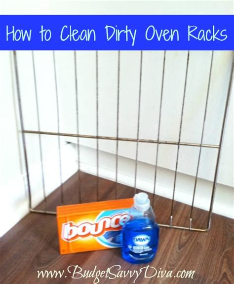 How To Clean Racks by How To Clean Oven Racks Budget Savvy