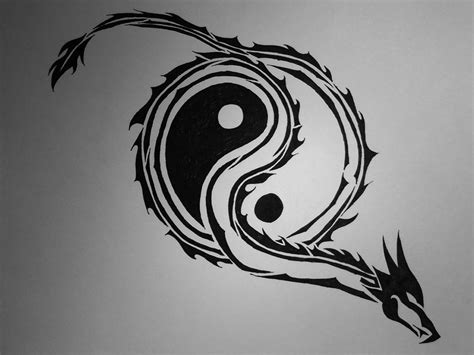 cat and fox yin yang tattoo design real photo pictures