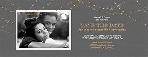 Electronic Save The Date Template by Save The Date Free Invitations