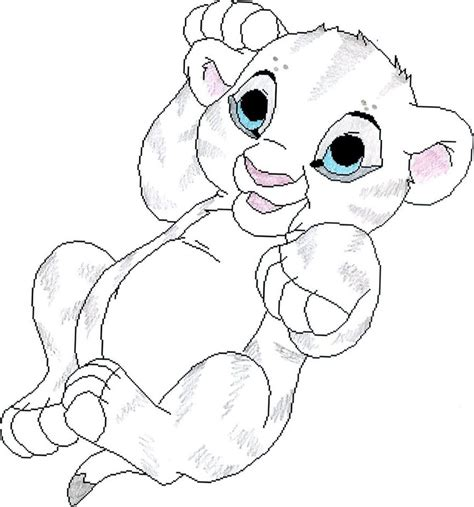 Baby Bianca By Brandi3981 On Deviantart Baby Simba Coloring Pages