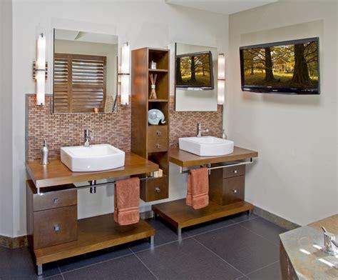 modern master bath remodel media pa contemporary